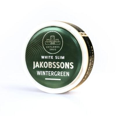 Jakobssons White Slim Wintergreen